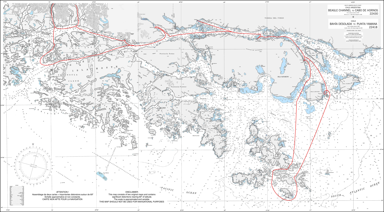 Map Denis avec tracés.